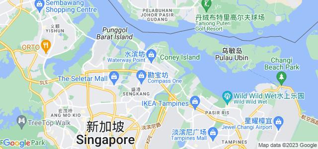 新加坡榜鹅地图